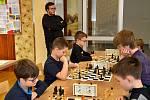 Ze šachového turnaje O Jineckého pěšce.