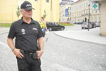 Městský strážník.
