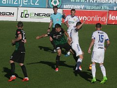Z utkání 1. ligy: Příbram - Zlín (0:2).