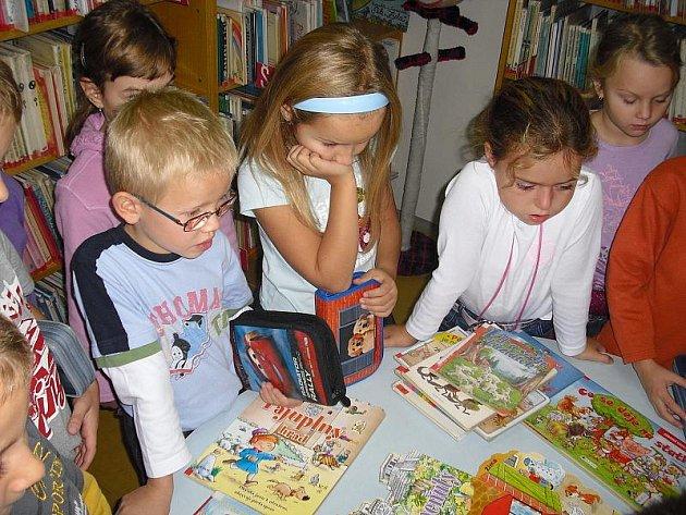 Knihovna ve Školní ulici v Příbrami