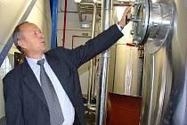 V Milíně na Příbramsku se vyrábí bionafta.