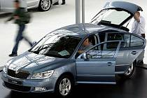 Zloději se často zaměřují na dražší vozy a mezi jinými i na Škody Octavie. Ilustrační foto.