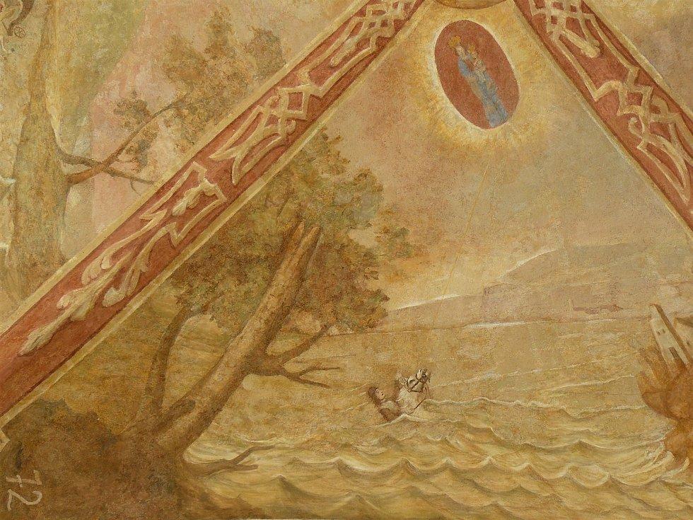 Sto svatohorských milostí: obraz číslo 72.
