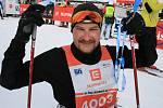 Jan Tománek dosáhl na Jizerské 50 osobního rekordu. Magickou hranici 5 hodin ale nepřekonal.