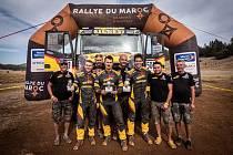 Sedlčanský tým Big Shock Racing skončil na Rallye du Maroc na druhém místě.
