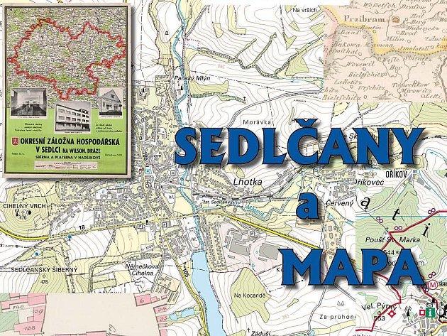 Mapa Sedlčan