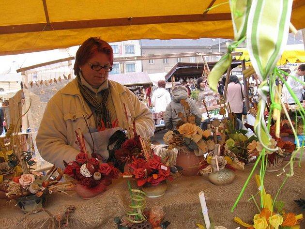 Jarní trhy v Příbrami.