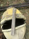 Oprava věže kostelíka odhalila vzkaz v cínové schránce.