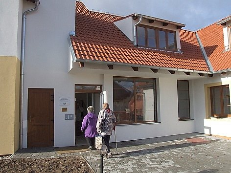 Dům s chráněnými byty v Rožmitále