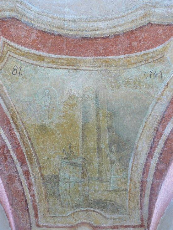 Sto svatohorských milostí: obraz číslo 81.