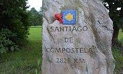 Na pěší pouť do Santiaga se příbramský cestovatel vydal loni.