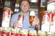 Václav Scherfer vyhrál 100 piv Gambrinus za tipování při EURO 2012.