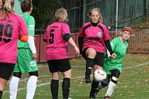 2. liga žen: Příbram - Teplice (2:0).