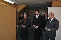 Slavnostní otevření rekonstruovaného podkroví na průmyslovce.