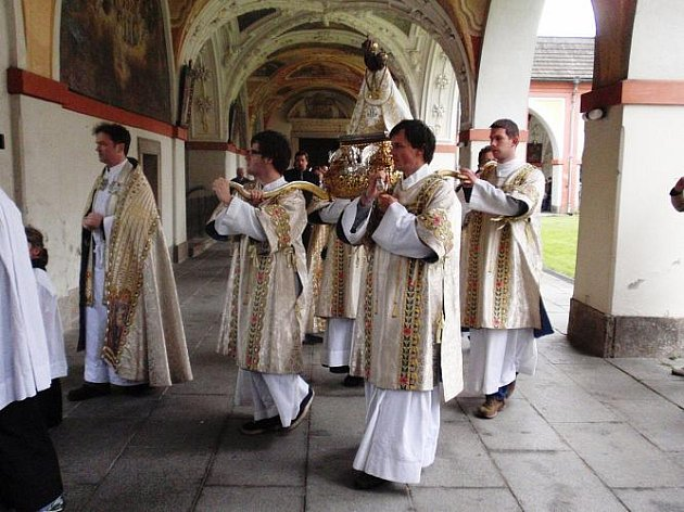 Slavnost 279. výročí Korunovace na Svaté Hoře.