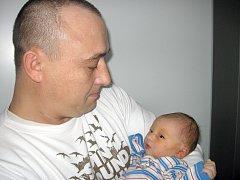 Od úterý 28. ledna mají maminka Andrea a tatínek Zdeněk z Příbrami radost ze svého prvorozeného syna Lukáše Matějky, který má z toho dne u jména zapsánu váhu 3,20 kg a míru 49 cm.