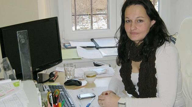 Ředitelka Farní charity pro seniory Alena Ženíšková.