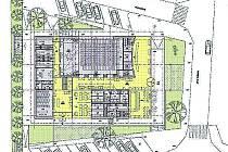 SOUČÁSTÍ návrhu je i úprava zeleně v okolí a vybudování 20 parkovacích míst v bezprostřední blízkosti společenského domu.