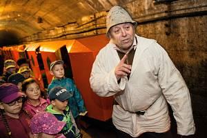 Hornické muzeum v Příbrami se více zaměřuje na dětské návštěvníky.