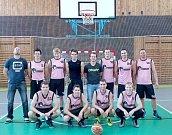 TÝM. Nejen basketbalový A tým Příbrami podává v aktuální sezoně velice dobré výkony. Vedení klubu ale trápí absence sponzora.