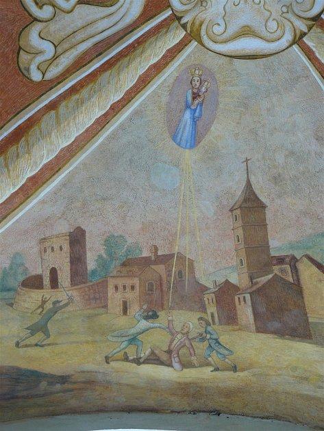 Sto svatohorských milostí: obraz číslo 41.