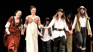Den divadla svatohorského gymnázia připomněl německé drama