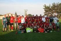 Druhé finále okresního poháru 2018/2019 Drahlín - Rosovice 2:6.