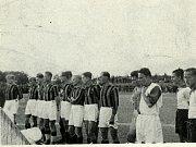 Z historie SK SPARTAK Příbram. Rok 1934.