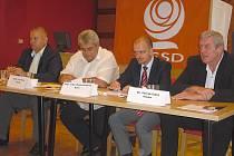 ČSSD zahájila v Příbrami volební kampaň.