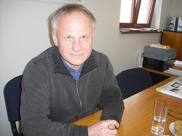 Starosta Chotilska Jiří Šťástka.