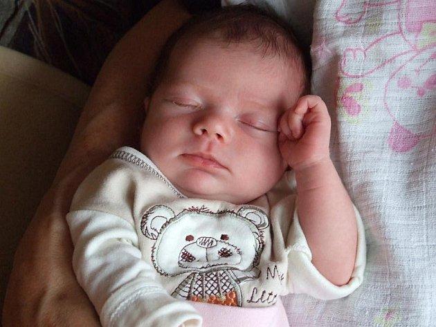 Maličká Eliška Hadrabová se narodila šťastným rodičům mamince Katce a tatínkovi Markovi ze Sedlčan v pátek 8. července. Po narození vážila  3.32 kg a měřila 50 cm.