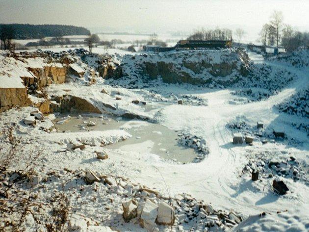 Vydolované území v roce 2003.