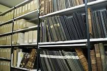 Archiválie v příbramském archivu.