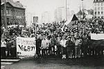Pořadatelé se pokusí vytvořit s účastníky snímkem podobný tomu z listopadu 1989.