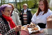 Krásné květnové odpoledne prožili účastníci prvomájových oslav v Obecnici na Příbramsku.