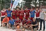 Central Europe Cup v plážové kopané - 2. místo: Česká republika.
