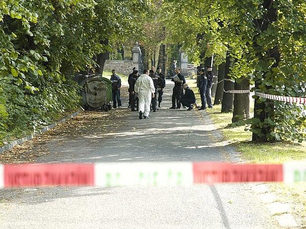 Policisté oblast uzavřeli a vyšetřují příčiny události.
