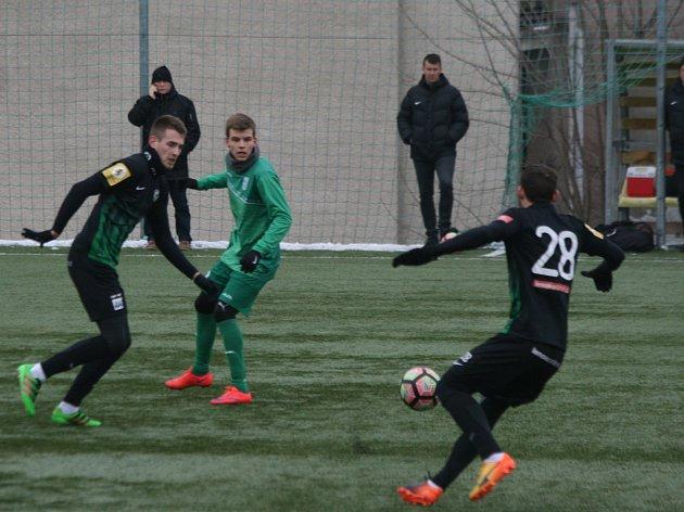 Fotbalisté 1. FK Příbram porazili v dalším přípravném zápase Loko Vtavín 4:0.