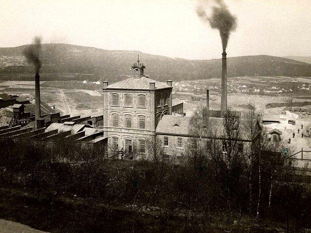 Důl Vojtěch, nedatováno. Ilustrační foto.