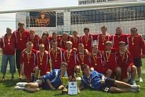 Výběr Středočeského krajského fotbalového svazu, který vyhrál Kouba Cup 2009.