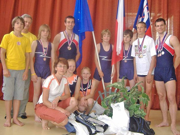 Sokol Příbram na letošních Přeborech ČOS získal 14 medailí.