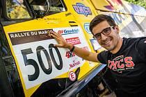 Martin Macík na Rally du Maroc.
