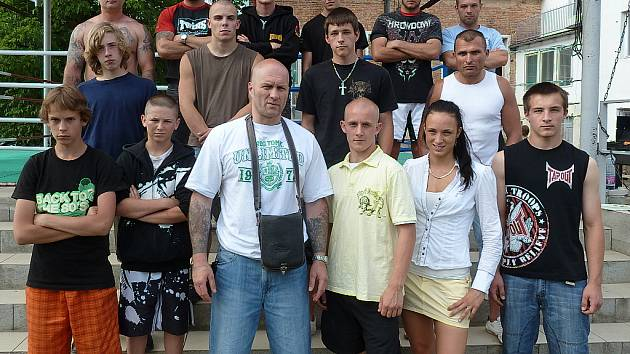 Členové KBC Příbram MMA.