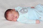 Honzík Matějka se narodil 25. října s váhou 4,11 kg a mírou 50 cm  Marii a Janovi z Lipiny.