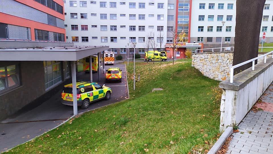 Přesun pacientů s covid-19 do Prahy.