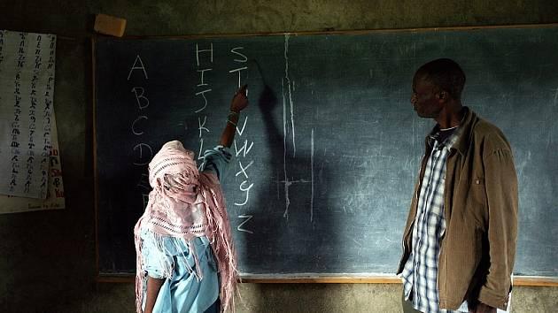 Škola v Africe. Ilustrační foto.