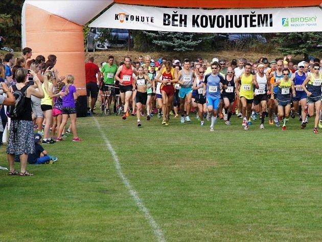 Běh Kovohutěmi 2016.
