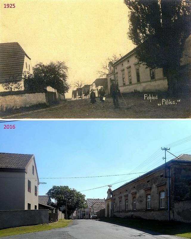 Pičín - Fara, podle níž se tak říkalo ulici, která kolem ní procházela.