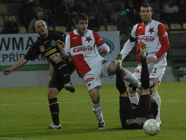Gambrinus liga: Příbram - Slavia (1:0).
