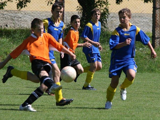 1. finále OP žáků: Kosova Hora - Milín (4:2).